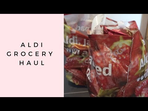 ALDI GROCERY HAUL | FAMILY OF 3 | WEEKLY FOOD SHOP | MEAL IDEAS