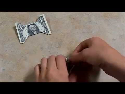 How to Make a Origami Dollar Bow Tie