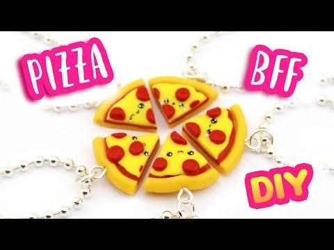 DIY 5 PIZZA BFF Charms! | KAWAII FRIDAY