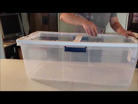 Building a small baby animal Incubator