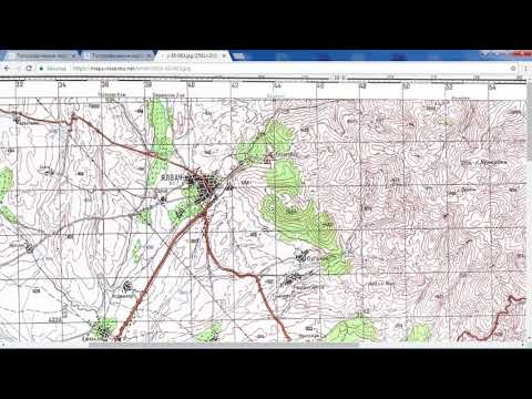 Download Soviet military topographic maps