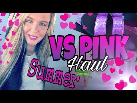 VICTORIA'S SECRET PINK HAUL 2017   SUMMER VICTORIA'S SECRET HAUL