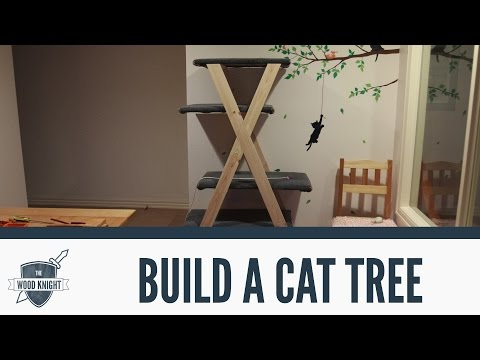 068 - How to make a cat tree (with the wood dame!)