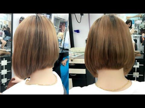 How to cut bob hair cut / image salon