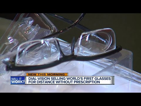 Dial-vision selling world's first glasses for distance without prescription