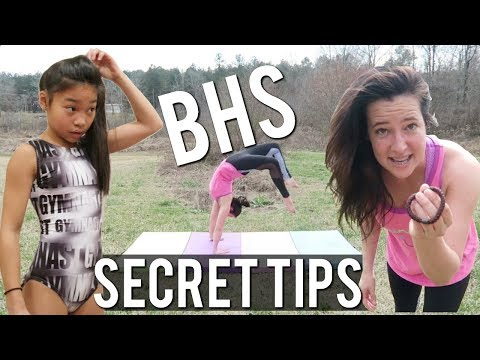 How to Get your Back Handspring in One Day | MORE SECRET TIPS with Lyds Vyds