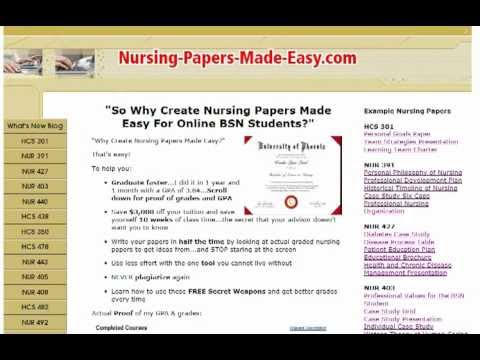 Nursing Papers Made Easy