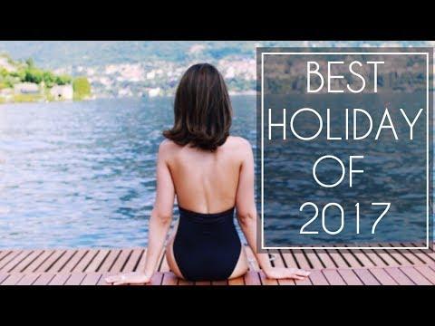 Best Holiday of 2017: Lake Como   TRAVEL VLOG   JASMINA PURI