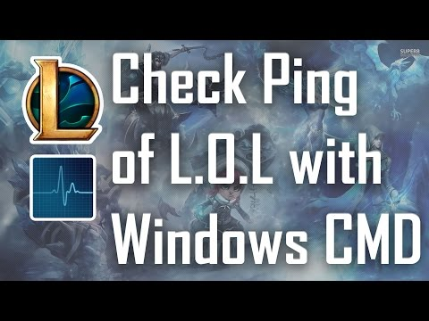 How to check League of Legends (LoL) Ping for NA/PH Servers