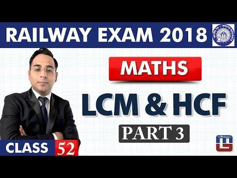 LCM & HCF   Part-3   Maths   Class - 52   RRB   Railway ALP / Group D   Live At 10 PM