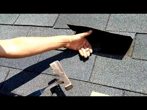 How to Replace a Roof Shingle