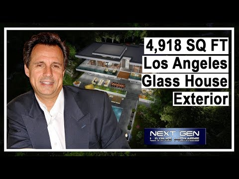 Los Angeles Glass House exterior