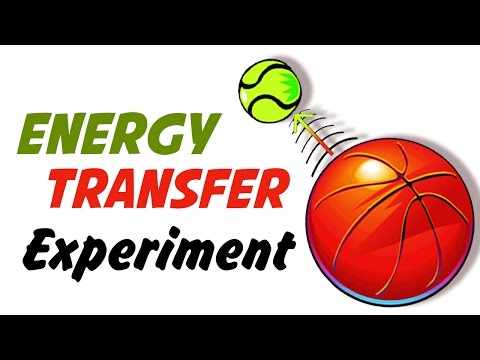 DIY Easy Science Experiment | Amazing Science Experiments | Energy Transfer Experiment