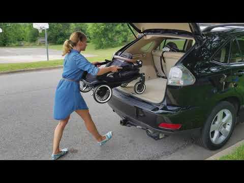 Austlen   SUV + Car Cropped Loading Stroller