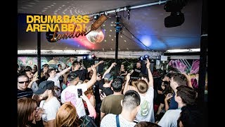 Kyrist B2B Philth ft. MC Gusto - Drum&BassArena BBQ London 2019