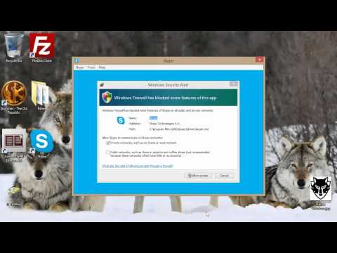 Downloading, installing and using Skype windows desktop for the first time