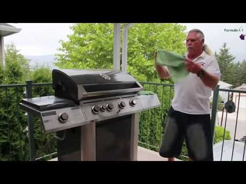 The Best Way to Clean Your Stainless Steel Barbeque