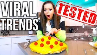 VIRAL YouTube Trends TESTED!!! | Krazyrayray