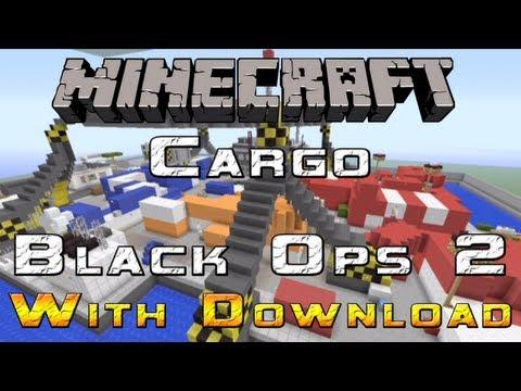 Minecraft Cargo BO2 - XBOX 360 MAP DOWNLOAD!