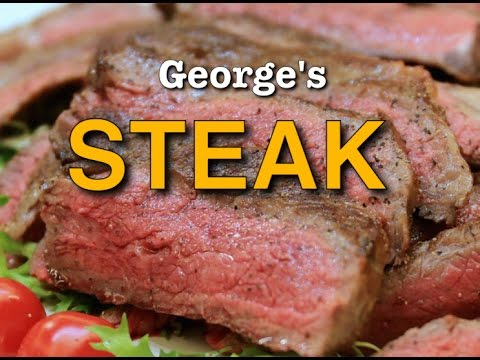 Delicious Food George Foreman Steak in less than 10 minutes