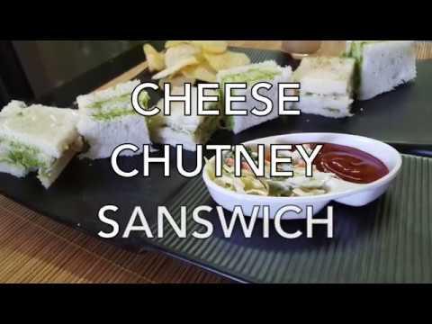 How to make Cheese Chutney Sandwich