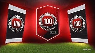 INSANE PRIME ICON! - Top 100 FUT CHAMPS MONTHLY REWARDS - FIFA 18 Ultimate Team