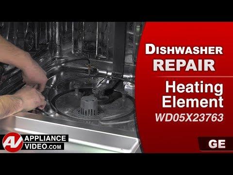 GE Dishwasher - Heating Element not functioning - Diagnostic & Repair