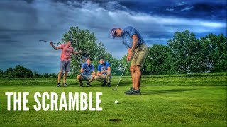 Golf Scramble With GM Golf | Public Embarrassment For Losing Team