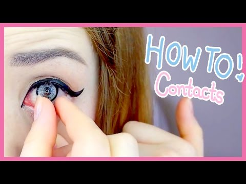 The Easiest Way to Put in Contact Lenses (My Weird Method)