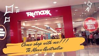 Come shop with me at TK Maxx Australia (Jumper Edition) ||Nigerian Living in Australia