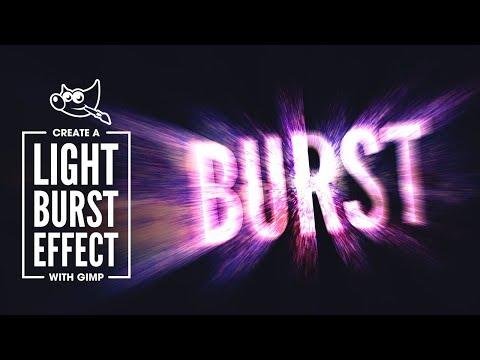 GIMP Tutorial: Light Burst Effect