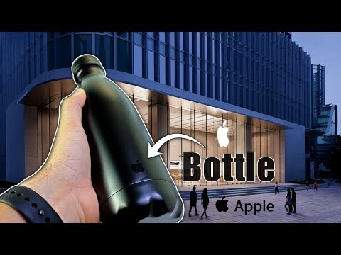The Apple Water Bottle | (GIVEAWAY ENDED)