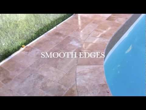 How to install pavers around pool deck