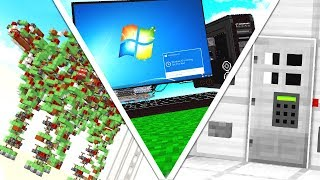 25 REDSTONE CREATIONS THAT WILL BLOW YOUR MIND!