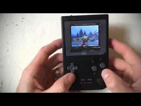 Raspberry Pi 3 + Gameboy Pocket