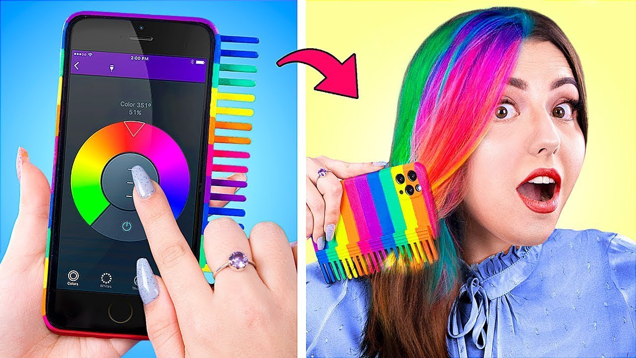 Rainbow Challenge for 24 Hours / If Accessories Were People / If My Crush Was a Superhero! /