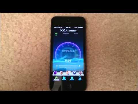 Straight Talk | iPhone 5 | 3G vs 4G LTE | Speed Test