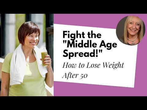 "Losing Weight after 60: Get Back in Shape after the Dreaded ""Middle Age Spread"""