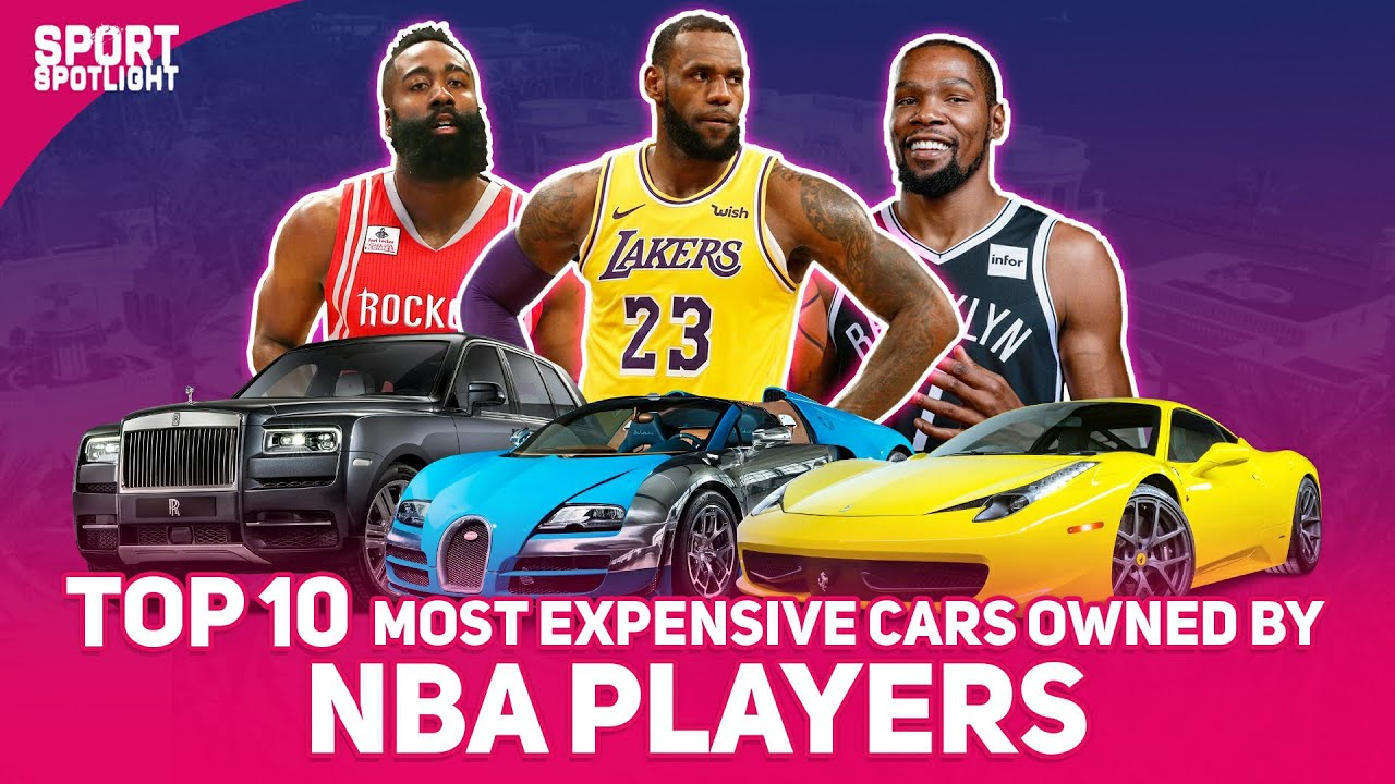 TOP 10 Most Expensive Cars Owned by NBA PLayers
