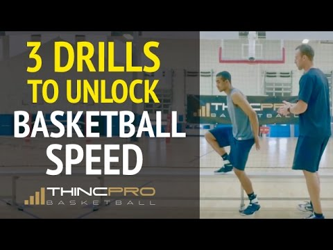 How To: Increase First Step Speed For Basketball (Pro Basketball Quickness, Speed Drills)