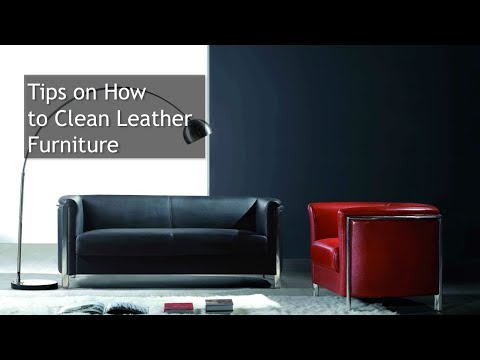 Tips on How to Clean Leather Furniture