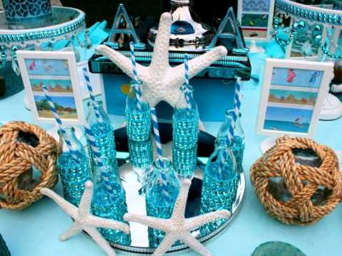 Under The Sea Theme Birthday Party By Sibella