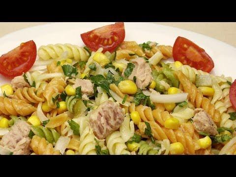 Tuna Pasta Salad With Corn Recipe
