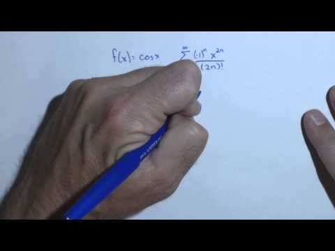 Finding the Interval of Convergence with the Ratio Test for cosine