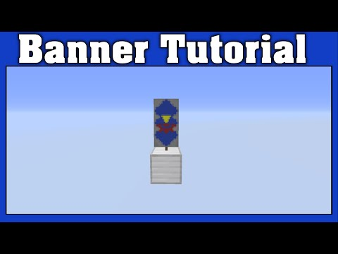 Minecraft Hylian Shield Banner Tutorial