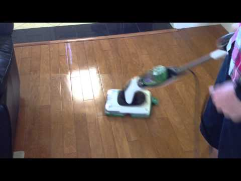 Shark Sonic Duo Hard Floor Demo (Hardwood)
