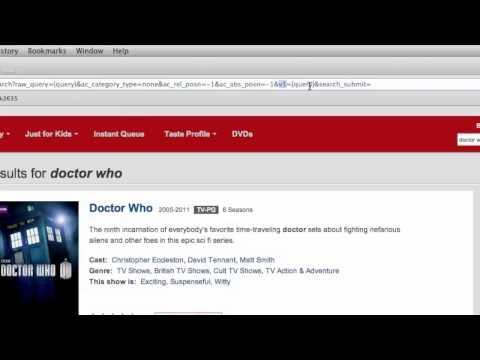 Alfred 2 - Making Custom Search URLs