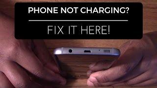 Samsung Galaxy S6/S7 Not Charging Problem Fix