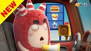 Oddbods | Nuovo | FAST FOOD DRIVE | Cartoni Animati Divertenti