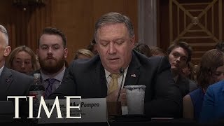 Secretary Of State Mike Pompeo Reads Letter Written By President Trump To Kim Jong Un | TIME